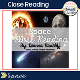 Close Reading: Space {Standards Aligned}
