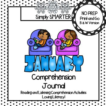 January Comprehension Journal:  Reading Comprehension Passages and MORE