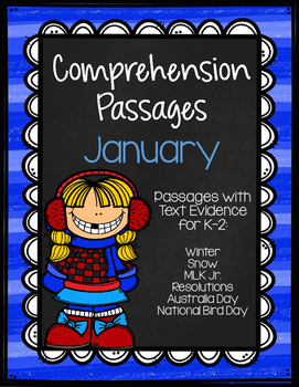 January Comprehension Passages