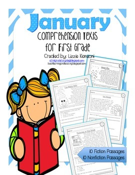 Comprehension Texts for First Grade- January