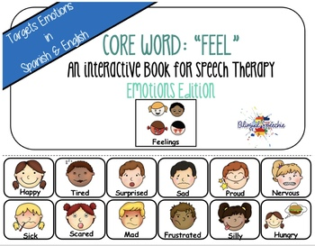 January Core Words of the Week (Spanish & English)