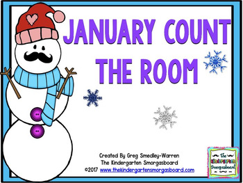 January Count The Room FREEBIE!