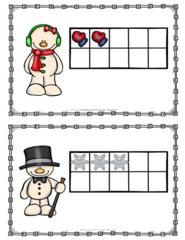 January Count and Write the Room 0-10 Freebie!