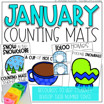 January Counting Mats (for Counting and Comparing)