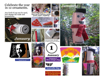 January Craft - Celebrate the first month