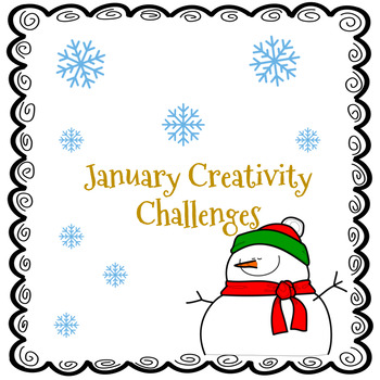 January Creativity Activities| GATE |Enrichment, Early Finishers, Centers