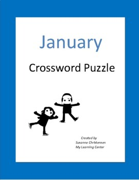 January Crossword Puzzle