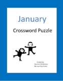 January Crossword Puzzle