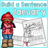 January Cut and Paste Sentences
