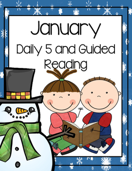 January Daily Guided Reading Bundle (Reading and Writing A