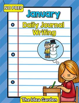 January Daily Journal Writing - NO PREP
