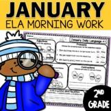 Morning Work January   Daily Language