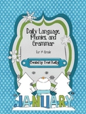 January Daily Language Arts for 1st Grade