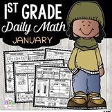 January Morning Work 1st Grade | 1st Grade Math Review Worksheets