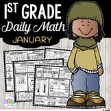 January Daily Math (1st Grade) - Use for morning, homework