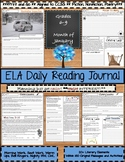 January Daily Morning Work ELA Bell Ringer for Middle School