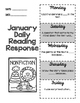 January Daily Reading Response