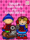 January Daily Work