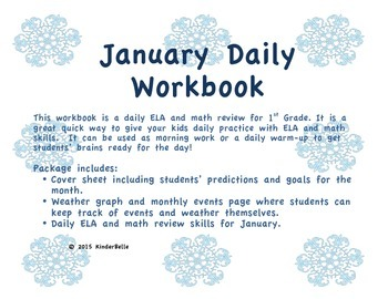 January Daily Morning Work