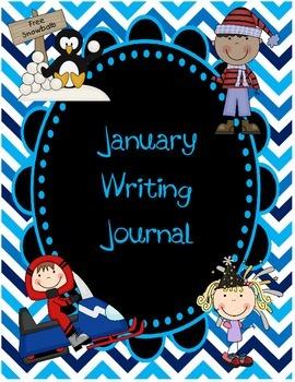 January Daily Writing Journal