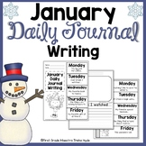 January Daily Quick Writes Writing Journal