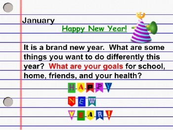 January Daily Writing Journal Prompts