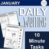 January Daily Writing Tasks
