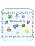 Homework Fun January-December - Kindergarten, 1st, 2nd, 3rd, 4th