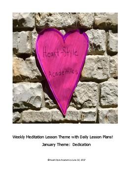 January Dedication Guided Meditation