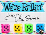 January Math ~ Dice Games