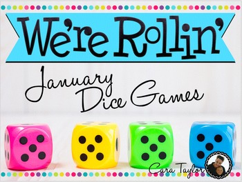 January Math ~ Dice Games