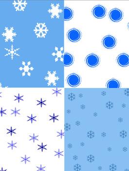 January Digital Backgrounds 8