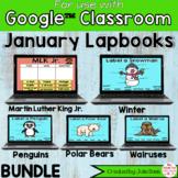 January Digital Interactive Notebook BUNDLE Google Classro