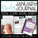 January Digital Writing Journal for  Google Drive or OneDrive