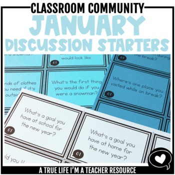 January Discussion Starters
