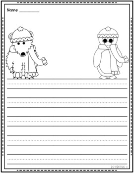 January Draw and Write