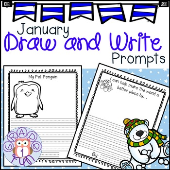 January Draw and Write Prompts