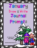 January Draw then Write Journal Prompts
