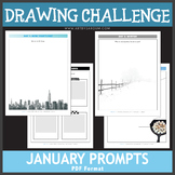 January Drawing Challenge