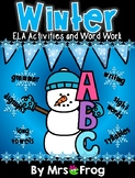 Winter / January ELA Activities and Word Work