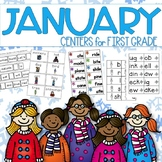 January ELA Centers for 1st grade