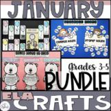 ELA Craftivity Bundle January