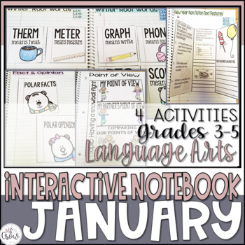 January ELA Interactive Notebook
