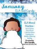 January ELA Skill Cards