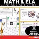 January ELA and Math Activities