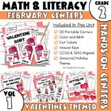 February Centers--2nd Grade Math and ELA