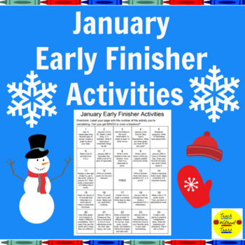 January Early Finisher Activities