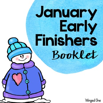 Early Finishers January Booklet