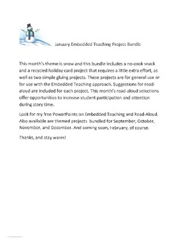 January Embedded Teaching Project Bundle