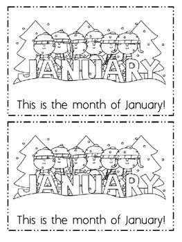 January Emergent Reader